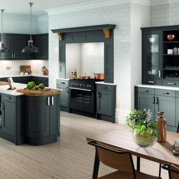 Bespoke made to measure Traditional Kitchen in Anthracite Matt Colour in London