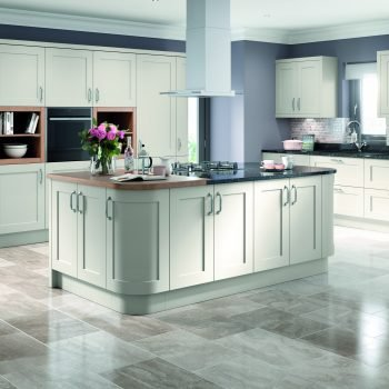 Bespoke Traditional Kitchen in Light Grey Matt Colour in London